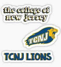 TCNJ Minis Sticker
