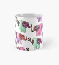 Floral Elephants Mug