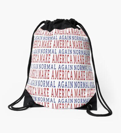 Make America Normal Again Drawstring Bag