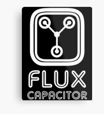 Flux Capacitor Metal Print