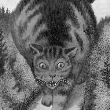 Kjat Monster Kitty by dianegaddis