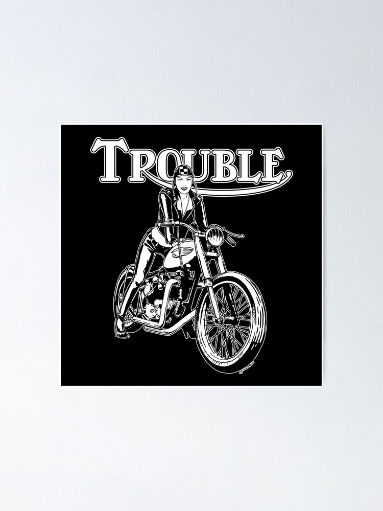 Alternate view of TROUBLE Poster