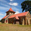 Christ Church, Illawarra, Tasmania by Gail Mew
