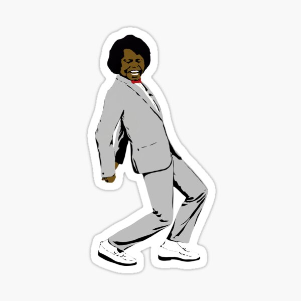 Pee Wee Brown Sticker