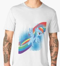 Rainbow DASH! Men's Premium T-Shirt