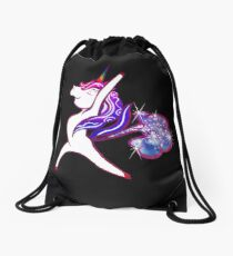 Mochila de cuerdas Fart Yoga Unicorn Horn Design