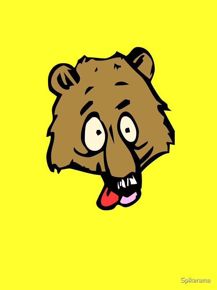 Kooky Bear Artwork by Spikerama