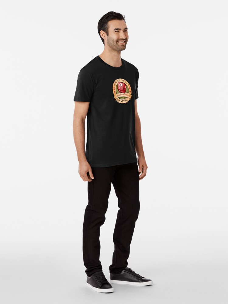 Alternate view of The Esoteric Order of Gamers Premium T-Shirt