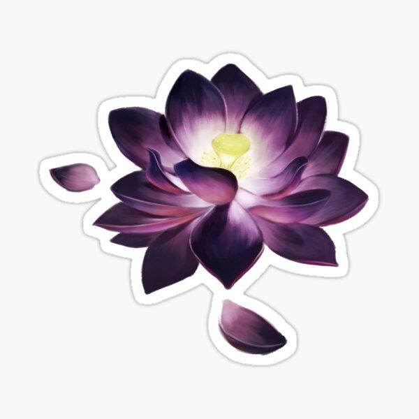 Black Lotus Sticker