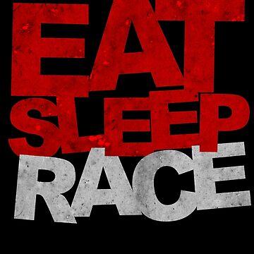 Eat Sleep Race by biiggieone