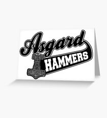 Asgard Hammer Greeting Card
