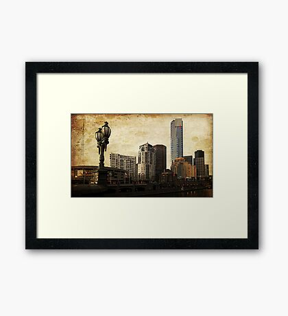 Southbank View Framed Print
