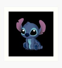 Chibi Stitch  Art Print