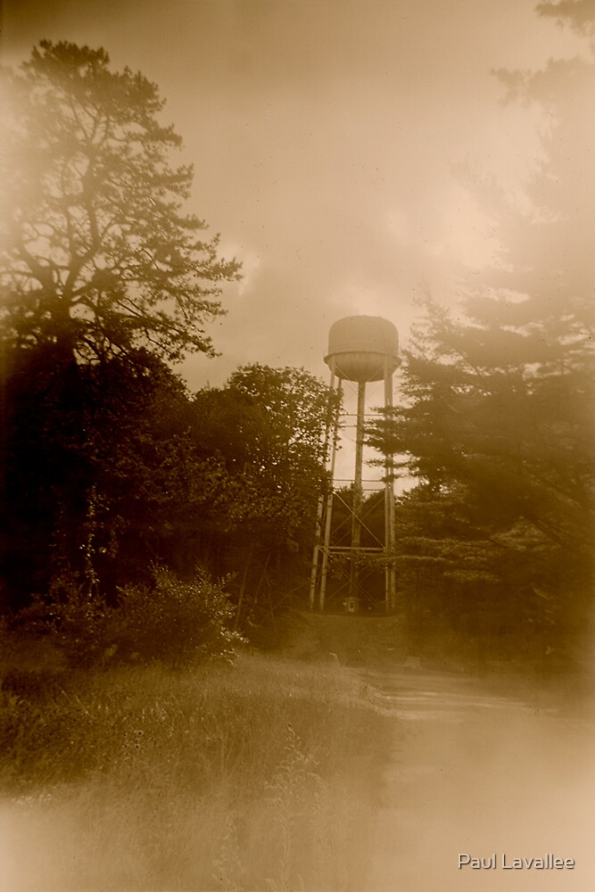 Ladd Water Tower by Paul Lavallee