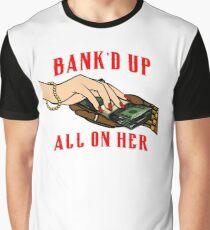 WHITE and RED (ALL ON HER) (MERCHS) Graphic T-Shirt