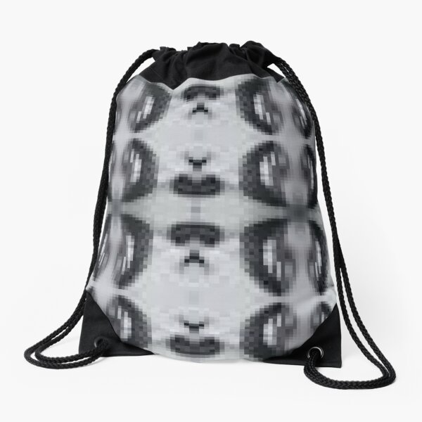 pattern, tracery, weave, template, routine, stereotype, gauge, mold Drawstring Bag