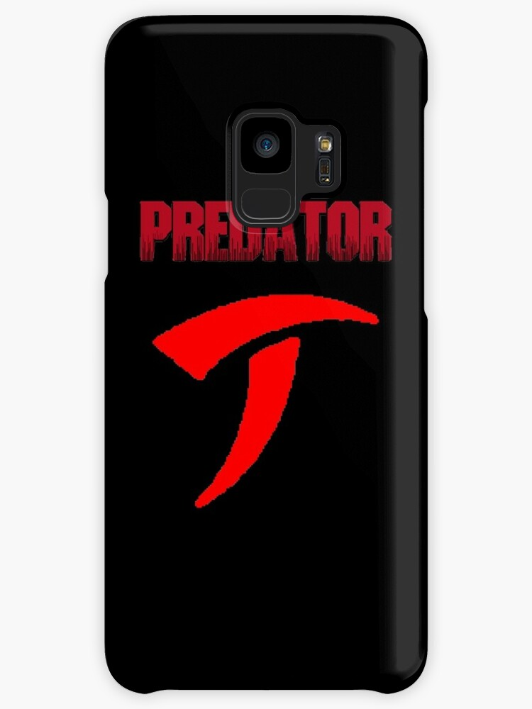 Predator Text And Symbol Cases Skins For Samsung Galaxy By