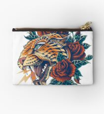 Ornate Leopard (Color Version) Studio Pouch