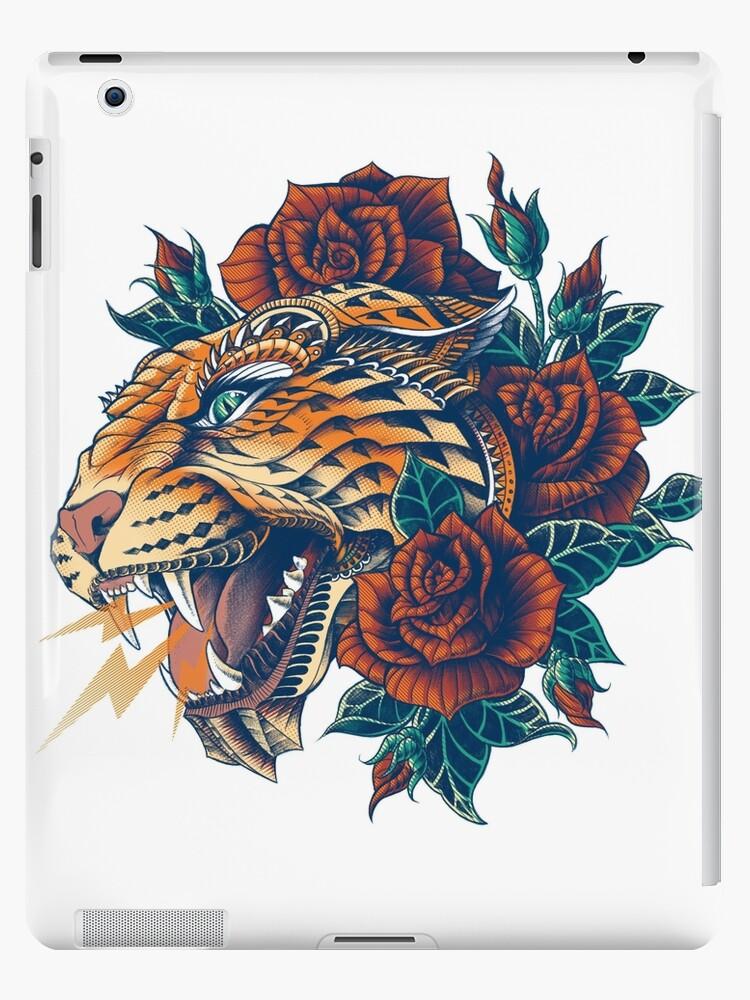 «Leopard adornado (Versión en color)» de BioWorkZ