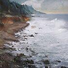 rough beach by Nikolay Semyonov