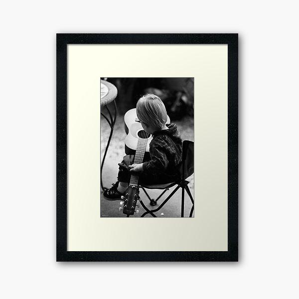 Young Talent Framed Art Print
