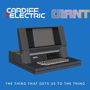Cardiff Electric Giant - Halt And Catch Fire by BenFraternale