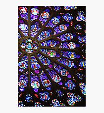 Colours of Stain Glass Photographic Print