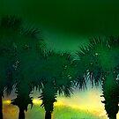 Painted Palms by Elizabeth Bravo