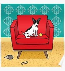 Rat Terrier Square Poster