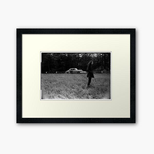 Roadside in Vermont 1969 Framed Art Print