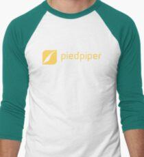 Pied Piper Logo Season 5 Silicon Valley Men's Baseball ¾ T-Shirt