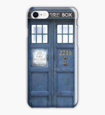 221b is Bigger on the Inside iPhone Case/Skin