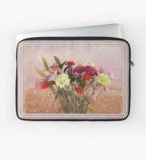 Bouquet in a Window ~ Painting Style Laptop Sleeve