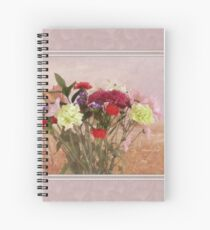 Bouquet in a Window ~ Painting Style Spiral Notebook
