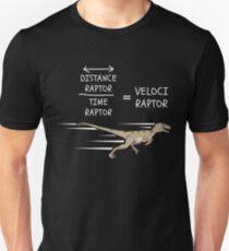 Velociraptor Equation  Unisex T-Shirt