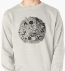 yin & yang doodle Pullover