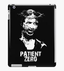 Patient Zero - Zombie Jesus - White iPad Case/Skin