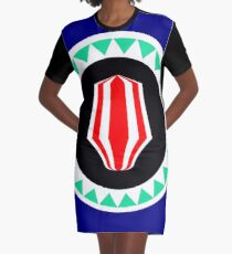 Bougainville Graphic T-Shirt Dress