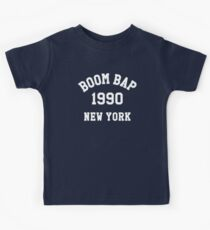 Hip Hop T Shirt - Boom Bap 1990 New York Tee Kids Tee