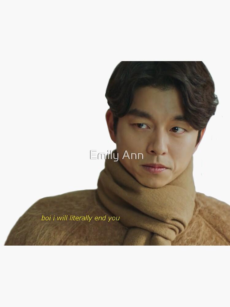 Kim Shin will end you by EmilyRagu