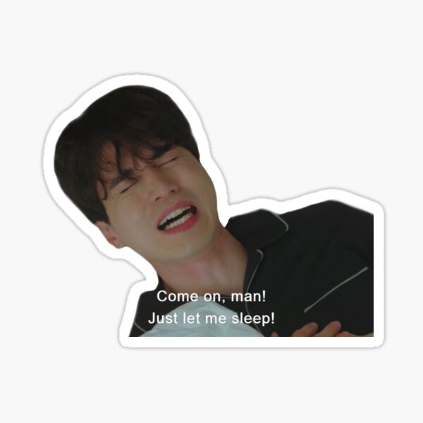 Sleepy Reaper Sticker