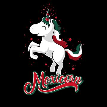 Cinco de Mayo - Mexican Unicorn - Mexicorn-Cute Kids T Shirt by Cheesybee