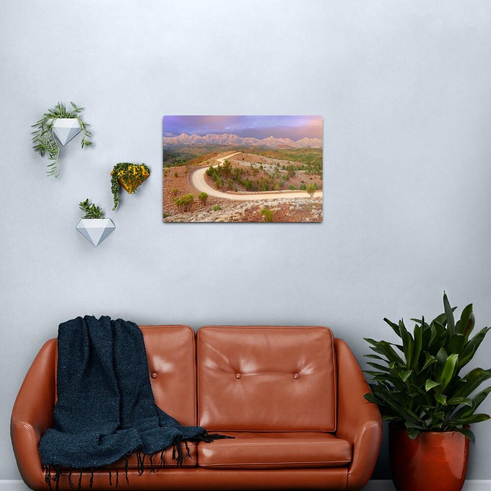 Bunyeroo Valley, Flinders Ranges, South Australia Metal Print