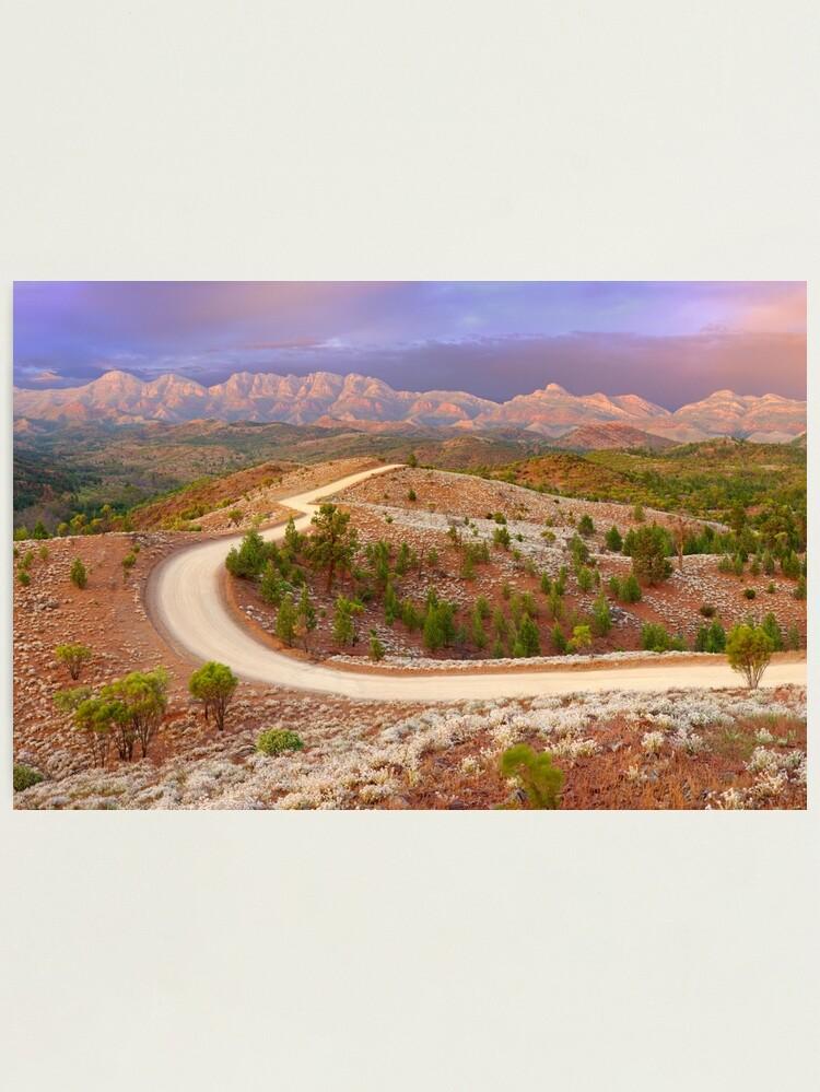 Alternate view of Bunyeroo Valley, Flinders Ranges, South Australia Photographic Print
