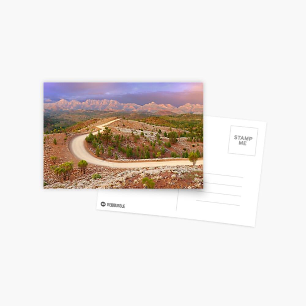 Bunyeroo Valley, Flinders Ranges, South Australia Postcard
