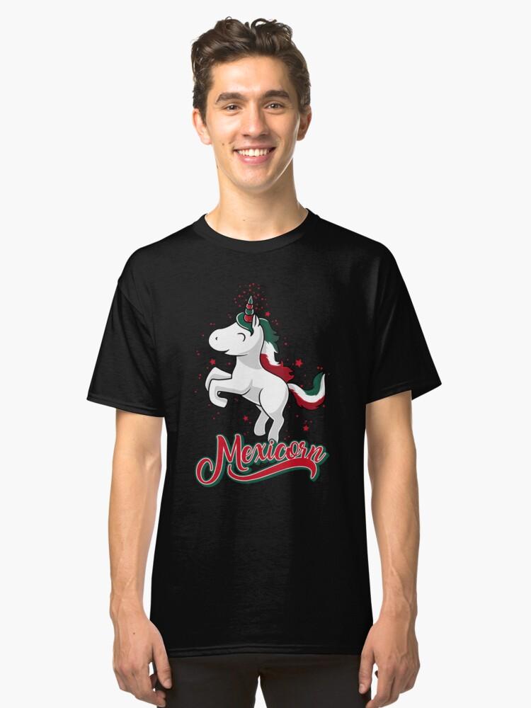 Cinco de Mayo - Mexican Unicorn - Mexicorn-Cute Kids T Shirt Classic T-Shirt Front