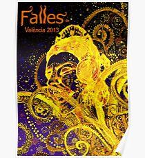 2013 FALLAS OF VALENCIA Poster