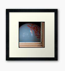 Peek 01 Framed Print