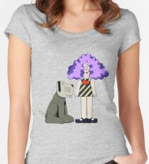 Crystal Tipps and Alistair Women's Fitted Scoop T-Shirt