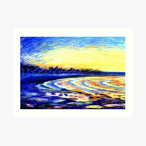 Aralia St Beach Art Print